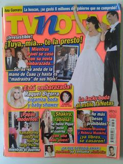 Revista Tvnotas Shakira Rabiosa
