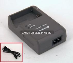 Carregador Canon Cb-2lze P/ Nb-7l G10 G11 G12 Sx30is Sx12