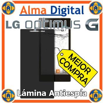 Protector Pantalla Antiespia LG Optimus G Antichisme