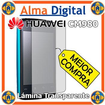 Lamina Protector Pantalla Transparente Huawei Cm980