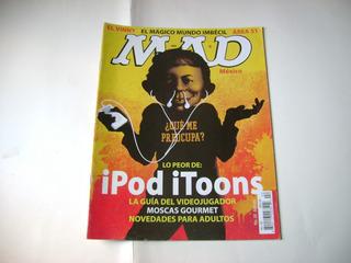 iPod #22 Marzo 2006 Revista Mad Comic