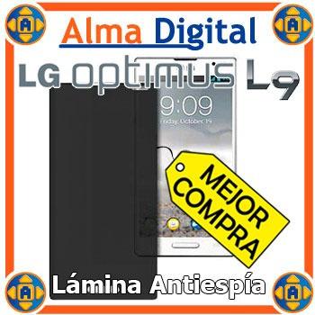 Lamina Protector Pantalla Antiespia LG Optimus L9 Antichi