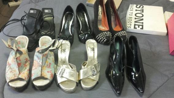 Zapatos De Mujer Usados Talle 35 /36
