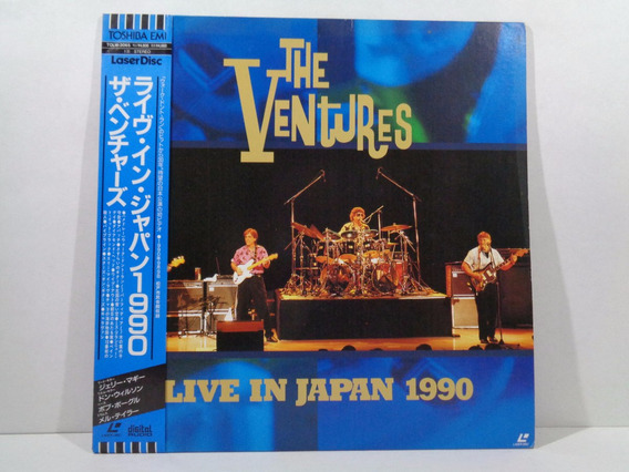 Ld Laserdisc The Ventures - Live In Japan 1990 - Completo