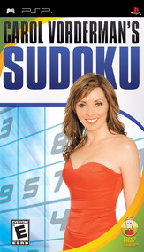 Jogo Psp - Carol Vorderman´s Sudoku (m.física/original)