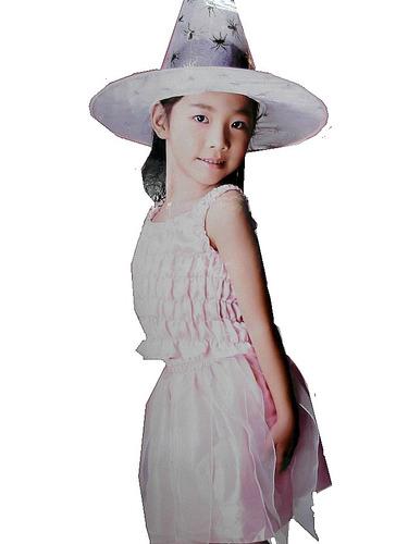 Disfraz Princesa Hada +sombrero Para Niñas Talla S