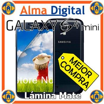 Lamina Protector Pantalla Mate Samsung S4 Mini I919x +paño