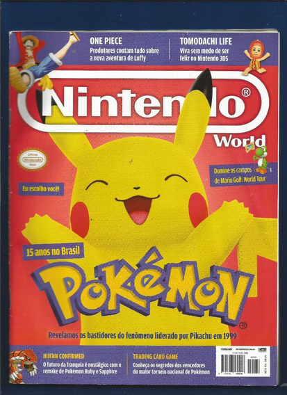 Revista Nintendo World Pokémon Nº182