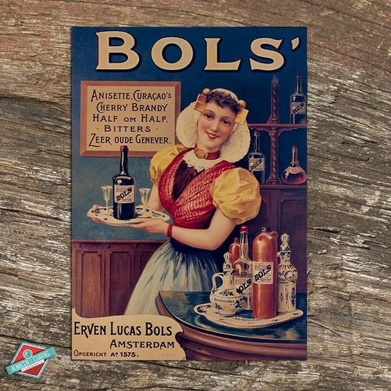 Cartel Retro Vintage - Aperitivo Bols