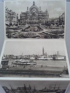 Antiguas Postales, Amberes, Bélgica. 1935. Sin Uso.