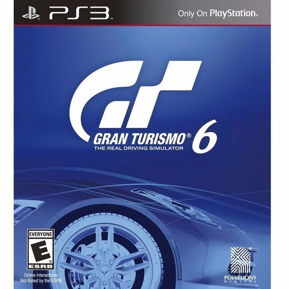 Jogo Ps3 Gran Turismo 6 Novo Lacrado E Original