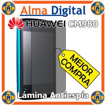 Lamina Protector Pantalla Antiespia Huawei Cm980 Antichisme