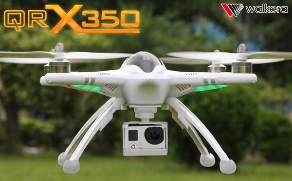 Quadricóptero Qr X350 Drone Câmera Gps Fpv Rádio Devof7 6ch