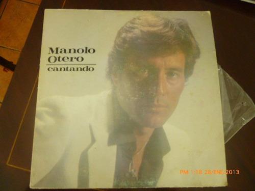 Vinilio Lp Manolo Otero-cantando (u32