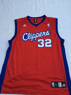 Camiseta Nba (adidas) Usa,los Angeles Clippers,#32 Talle L