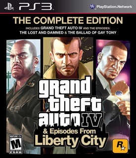 Gta 4 Grand Theft Auto Iv Complete Edition Ps3