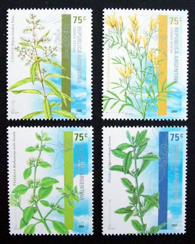 Argentina Flora, Serie Gj 3417-20 Plan Aromáticas Mint L2580