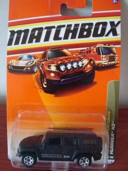 Mini Pickups Hummer H3 Da Matchbox Na Esc.1/87