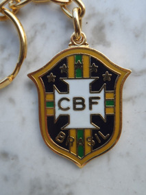 Chaveiro Do Penta - Cbf - Estado De Novo - Coleção