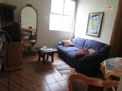 Studio Residencial À Venda, Centro, São Vicente. - St0114