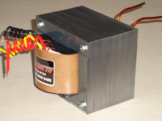 Transformador Para Carregador De Baterias 13,6v 10 Amperes
