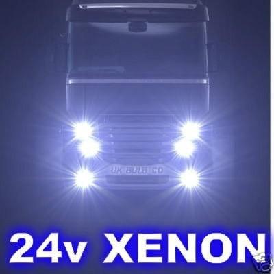 Kit Xenon Caminhão Ônibus 24v H1 H3 H7 H11 12000k Azul Roxo