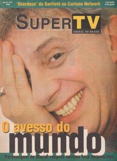 Supertv 1999 - Capa: Marco Nanini / Ana Paula Arósio