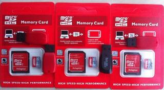 Micro Sd Hc 32 Gb+ Usb 2.0