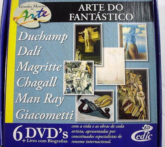 Grandes Mestres Da Arte - A Arte Do Fantástico 6 Dvd
