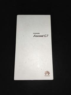 Caja Original Con Manuales Huawei Ascend G7