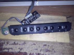 Teclado E Placa Receptora Do Remoto Tv Lg32ld350