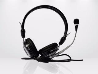 Auricular Kanji Con Microfono Headset Nuevo