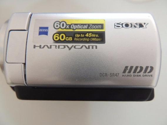 Filmadora Sony Handycam Dcr-sr47 60gb Zoom 60x