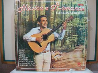 Vinil Música E Romance - Carlos Alberto