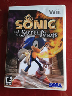 Sonic And The Secret Rings, Juego Para Wii, Envio Gratis