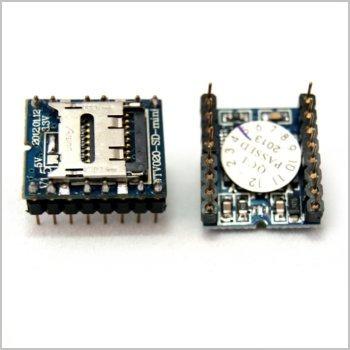 Imagen 1 de 5 de Reproductor De Audio Minisd Wtv020sd (arduino, Avr, Pic)
