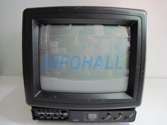 Antiga Televisão A Cores Hana Vision Sw-1000 No Estado