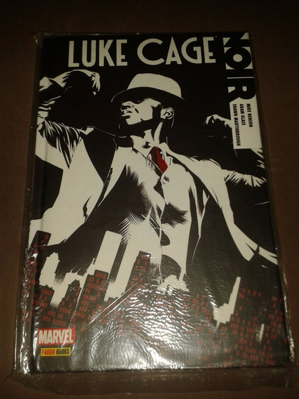 Hq Luke Cage Noir Capa Dura Panini Books Nova E Lacrada