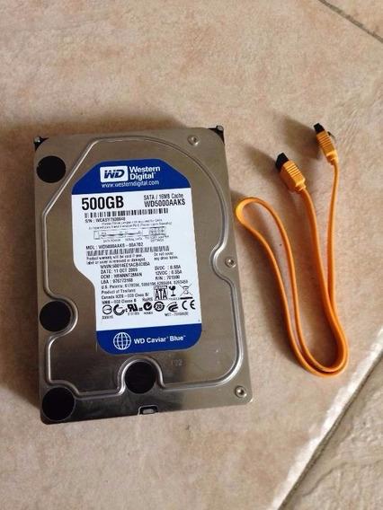 Disco Duro Western Digital 500gb 7200rpm