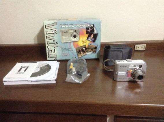Câmera Digital 5.0 Mp Vivivam 5385. 3x Zoom Óptico