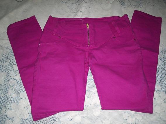 Calça Jeans Color Skynni Tamanho 42