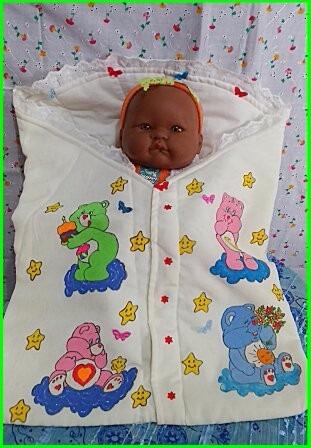 Saco De Dormir Bebê Ou Para Passeio Festa Urso Carinhoso