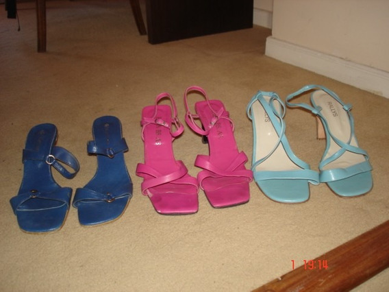 Sandalias Mujer Talle 40 Impecables