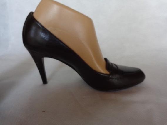 Calvin Klein Zapatos Marron Cuero Nro.36/37 O.mar2011