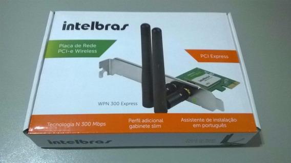 Placa De Rede Pci-e Wireless Wpn 300 Express