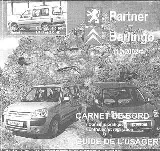 Partner, Berlingo + Manual De Despiece Envio X Mail