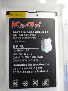 Bateria Original Kingo P/ Nokia Bp-4l - N97 E71 E90 E63 E61