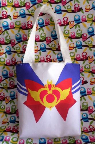 Mini Tote Bag Cartera De Anime Sailor Moon