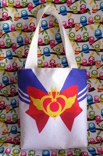 Mini Tote Bag Cartera De Anime Sailor Moon