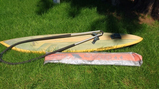 Tabla De Windsurf Trade Wind Y Vela Neil Pryde